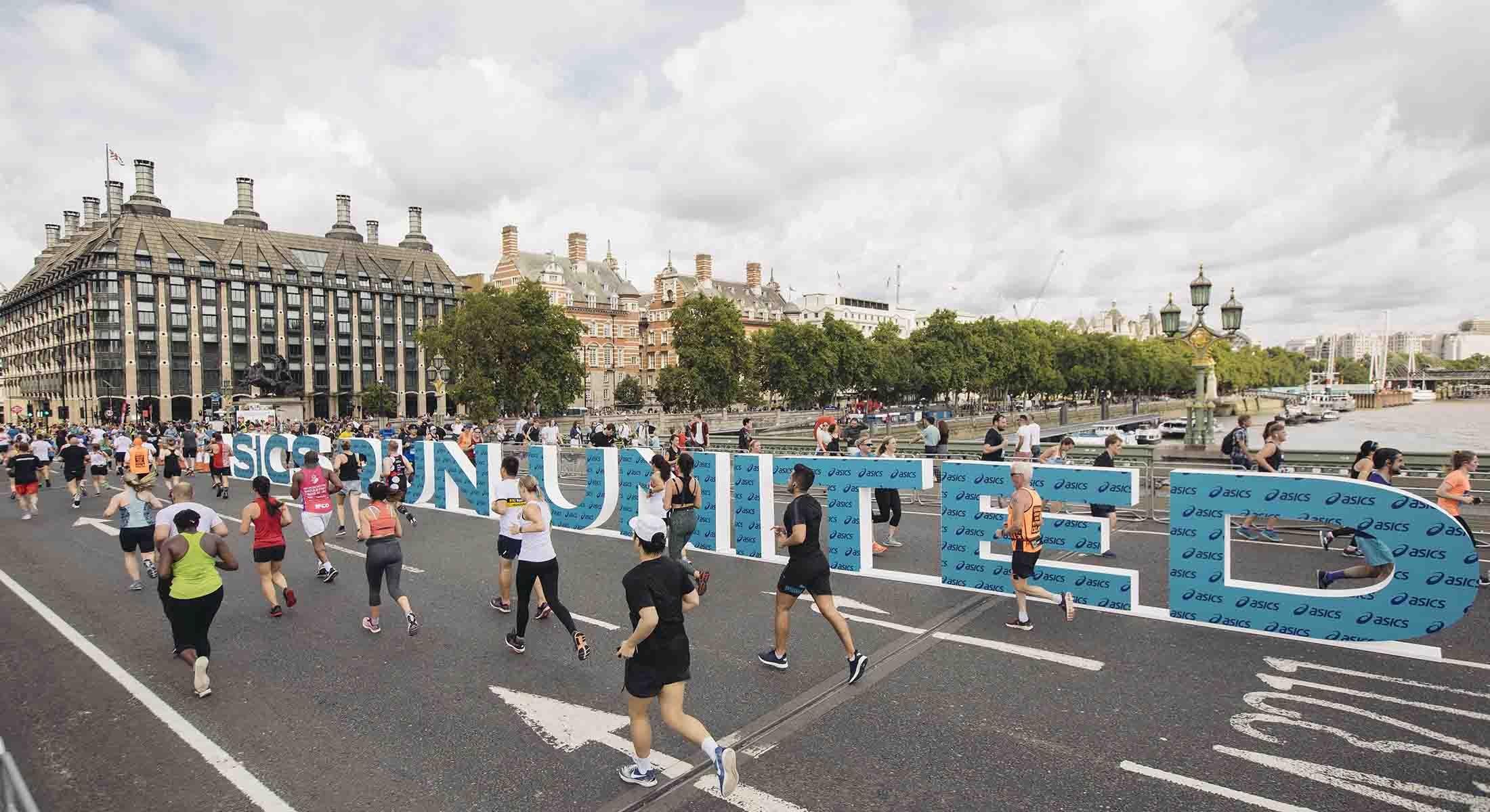 ASICS London 10k Westminster Bridge