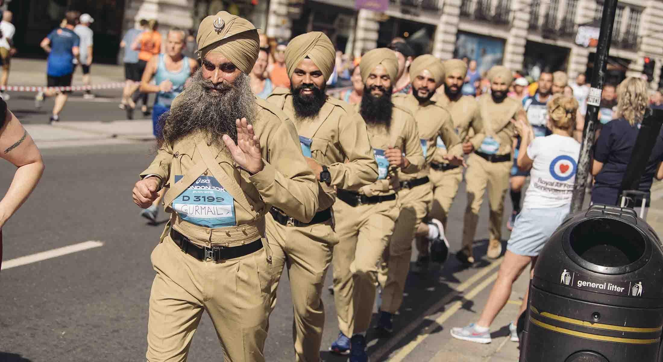 ASICS London 10K runners