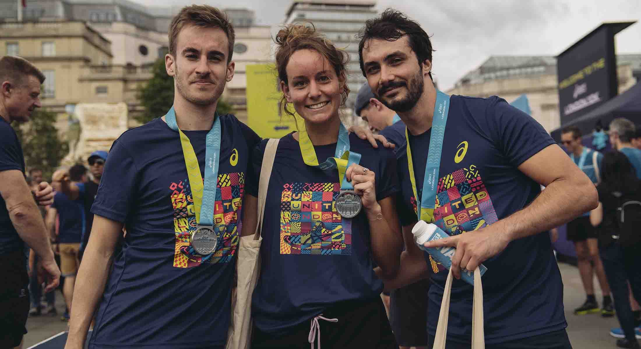 ASICS London 10K runners