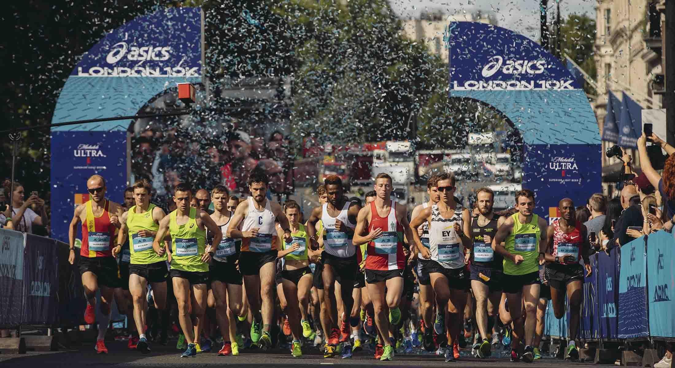 ASICS London 10K 2019 start