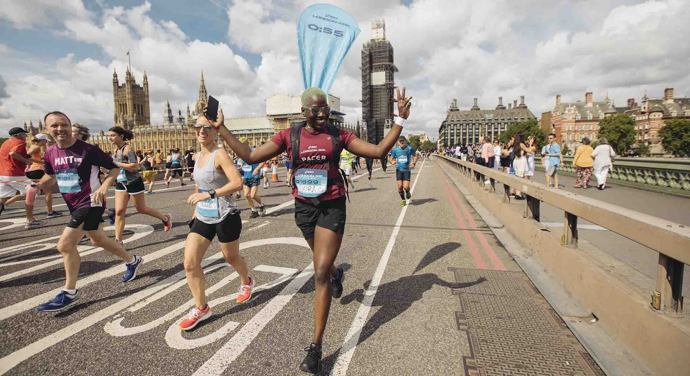 ASICS London 10k Westminster Bridge