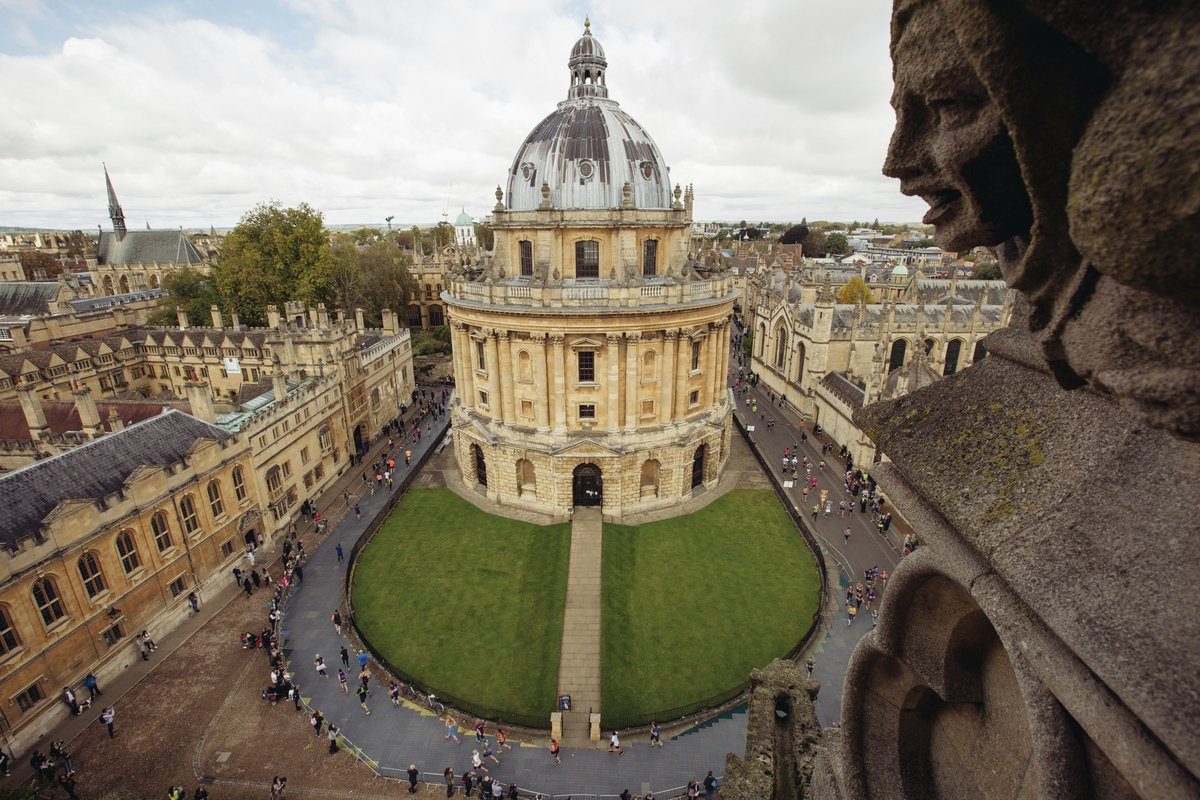 A stunning view of the Radcliffe Camera in Oxford