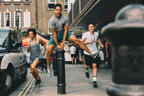 Running London Streets