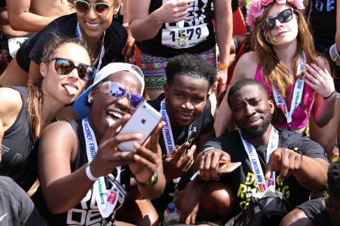 Run Hackney Sport Selfie