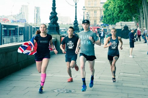 Our official 2017 British 10k Pacers at the Virgin Sport Event