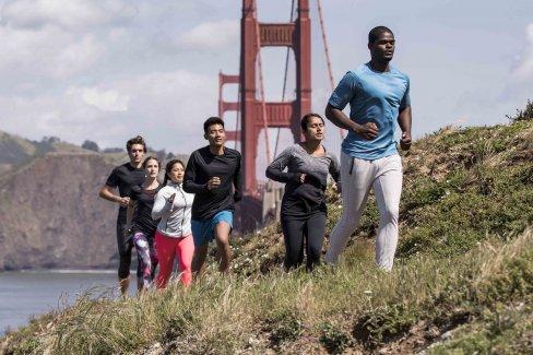 Running in San Francisco with Virgin Sport at the Golden Gate Bridge