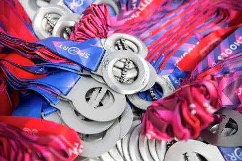 Virgin Sport Hackney medal